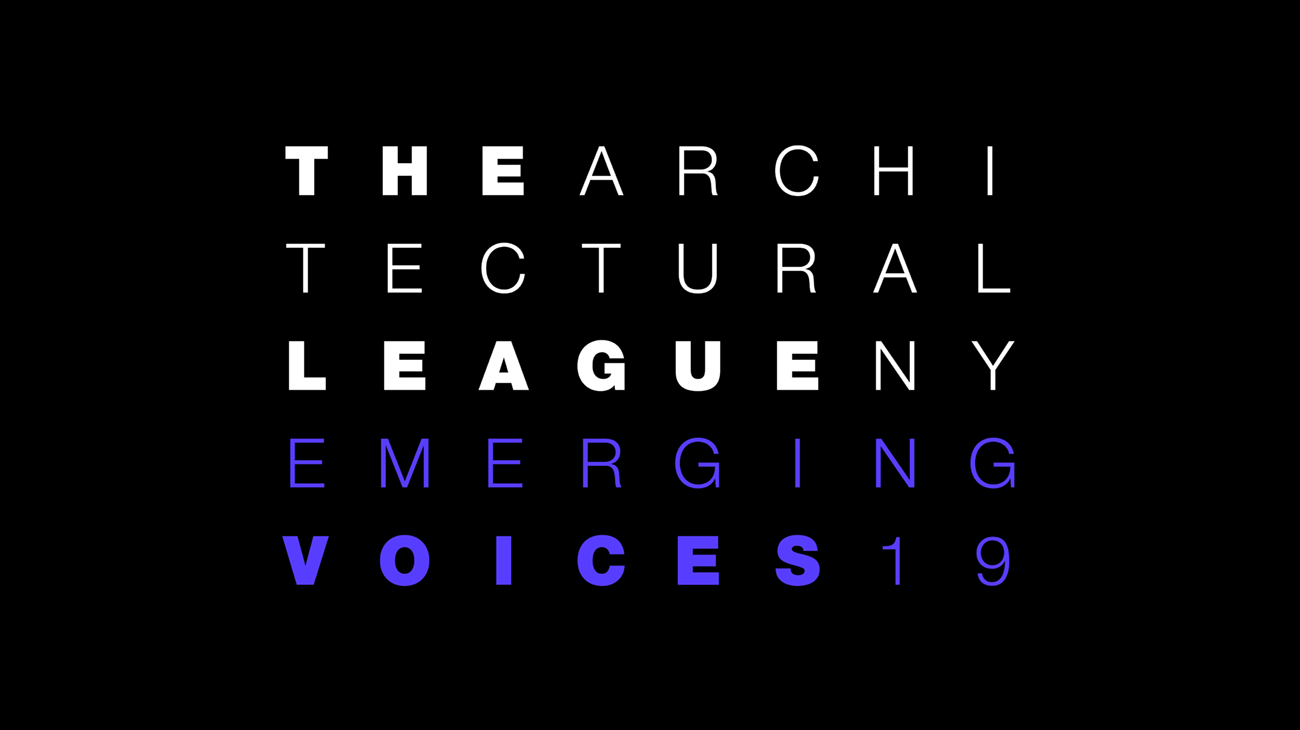 Emerging Voices 2019
