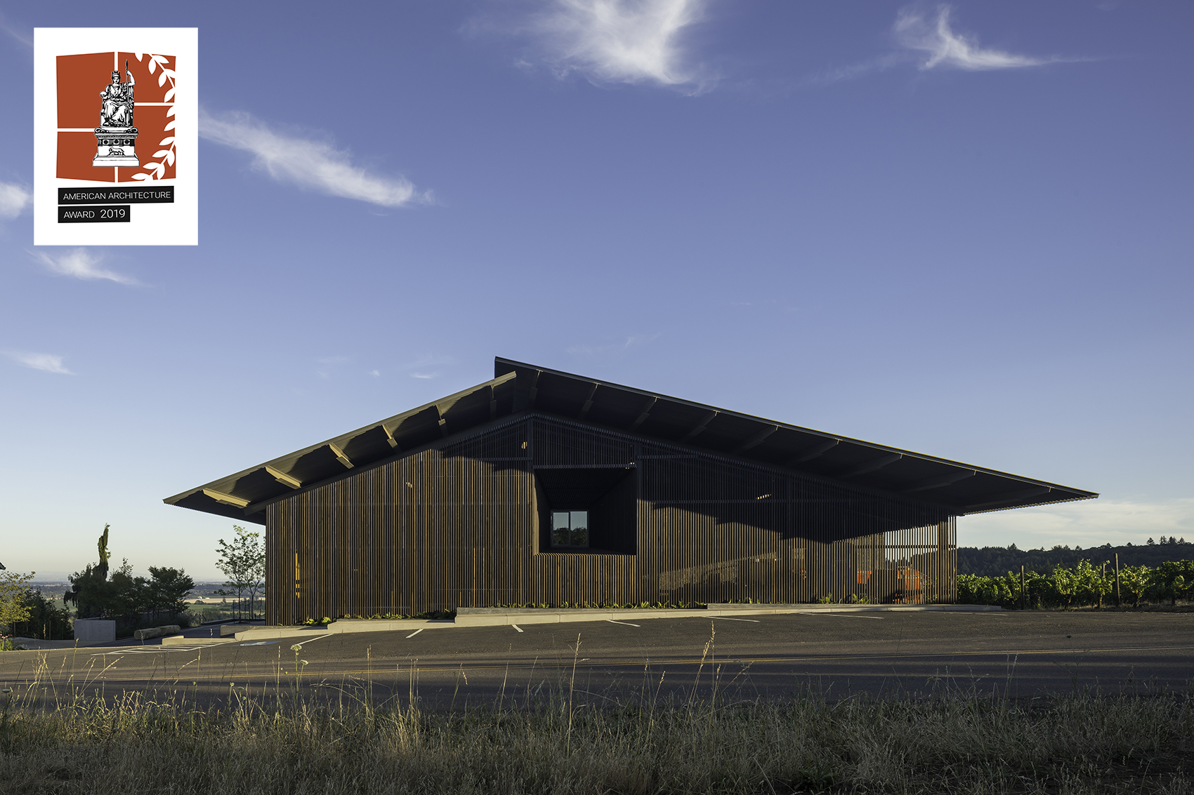 American Architecture Award winner Furioso Vineyards