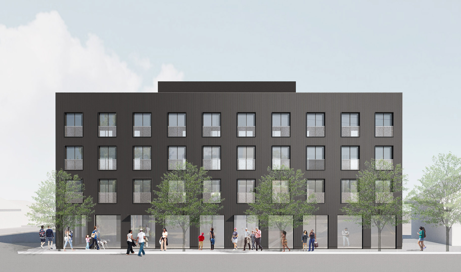 Rendering NE Killingsworth - Waechter Architecture