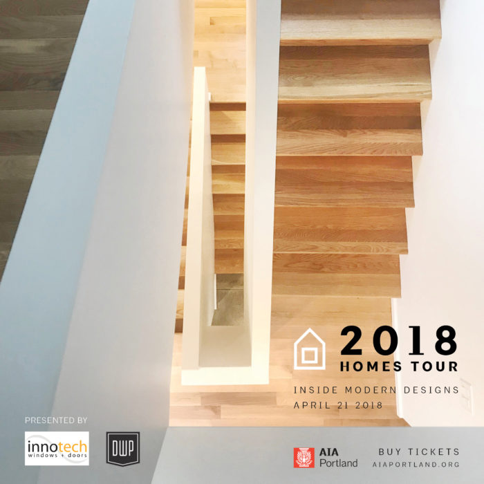 AIA Homes Tour Flyer - Waechter Architecture